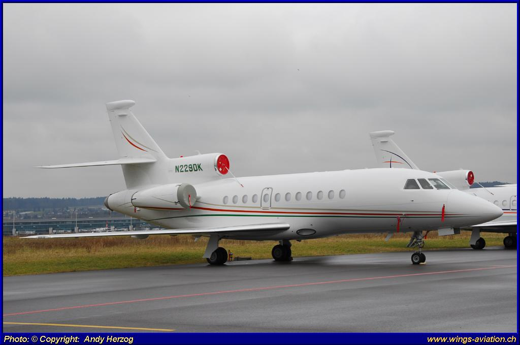 Dassault falcon 900ex n2bd becton dickinson and co picture