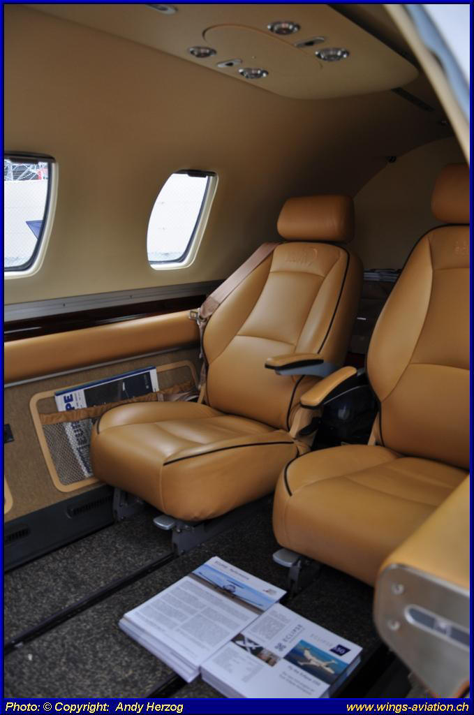 View of the Eclipse 550 the latest model  Picture courtesy Eclipse  Aerospace Inc. The Trip Basel   London   Exeter   Bern